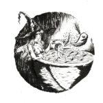 inktober 2018 jour 12 - Whale