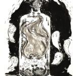 inktober 2018 jour 18 - Bottle