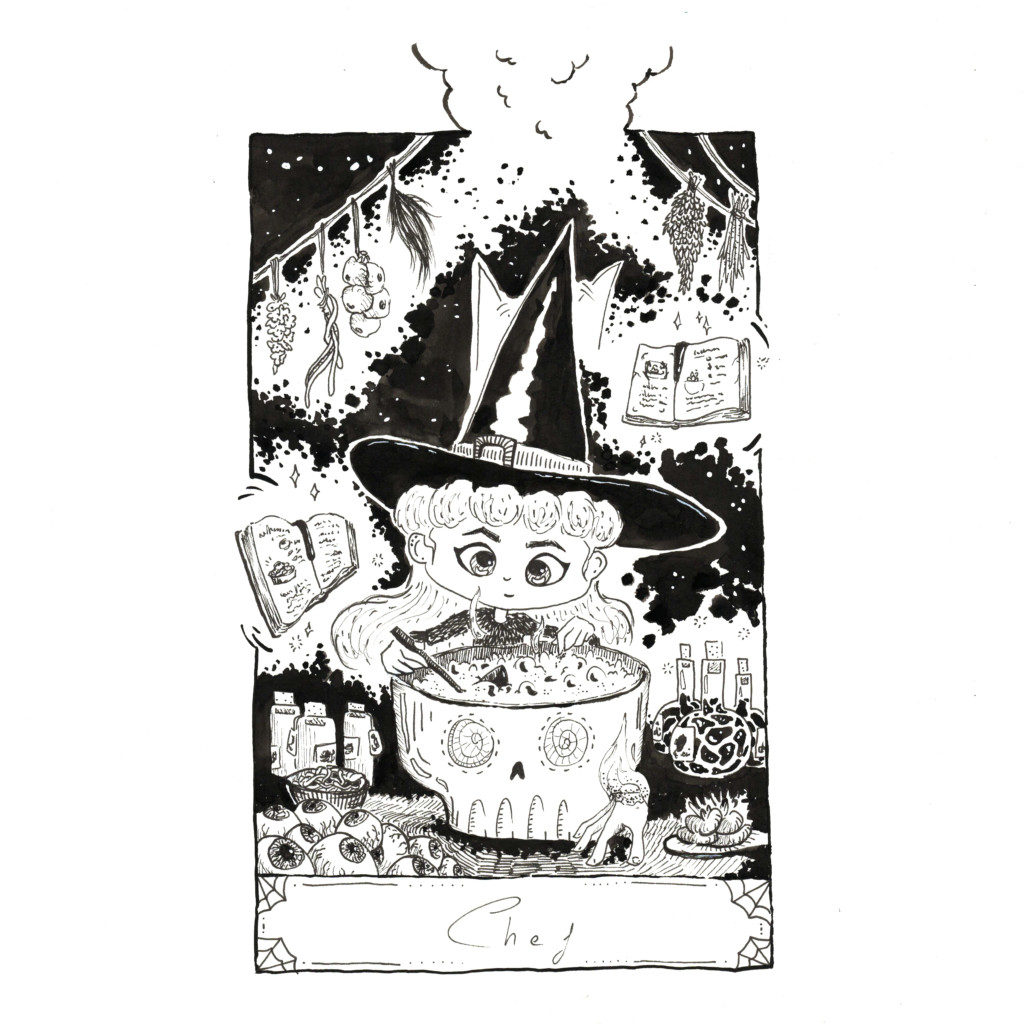 Inktober 2020 jour 22 - Chef