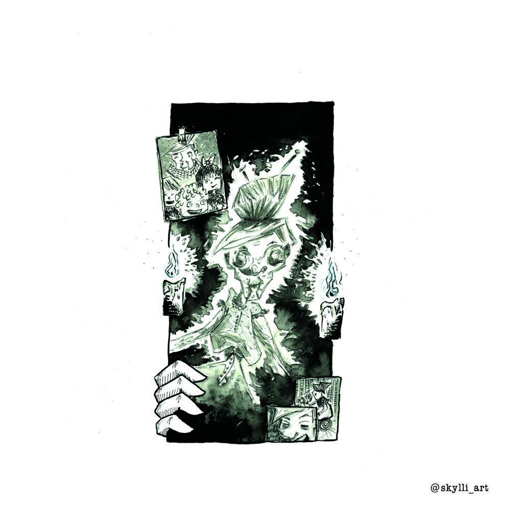 Inktober 2019 jour 22 - Ghost