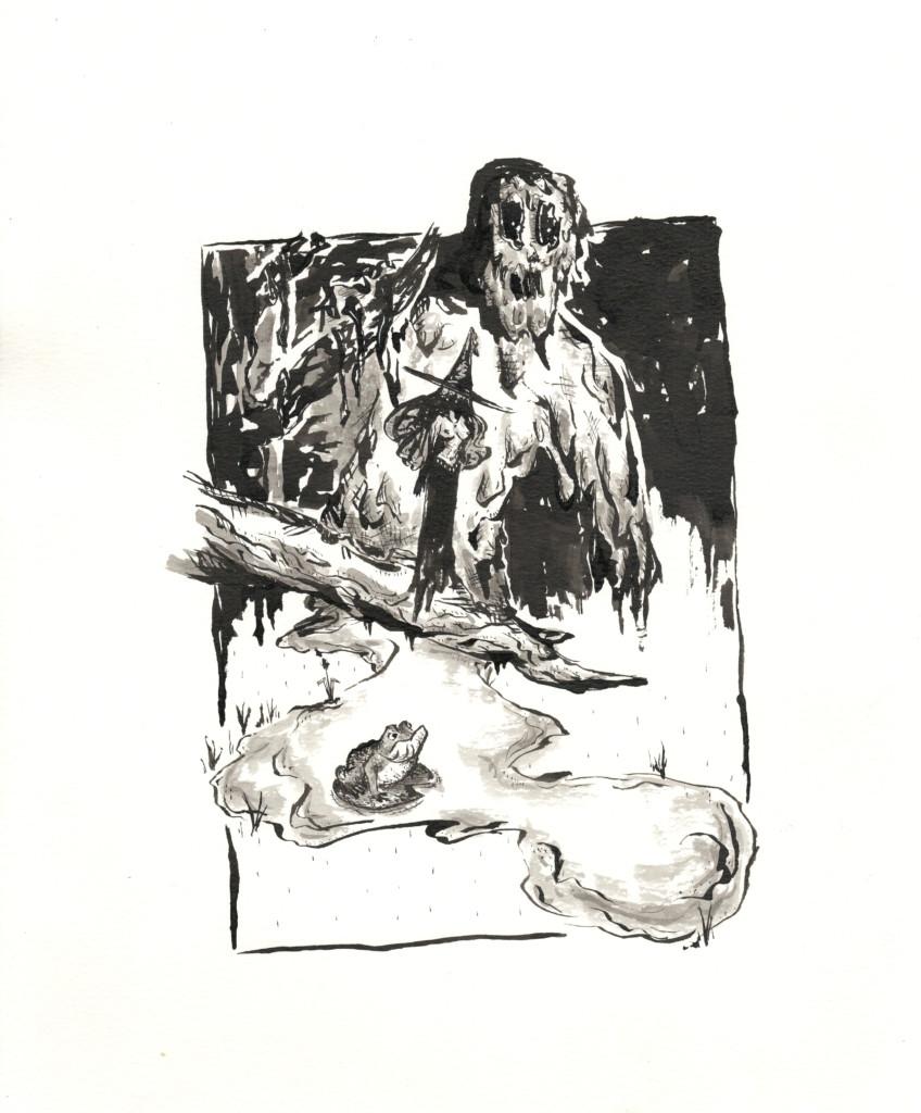 inktober 2018 jour 23 - Muddy