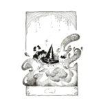 Inktober 2020 jour 31 - Crawl