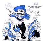 Mermay 2020 jour 23 - Siren song