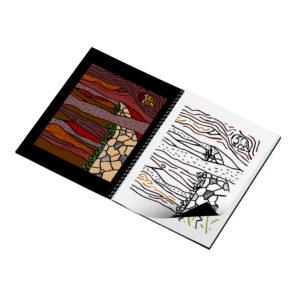 Livret de coloriages - Voyages - forêt