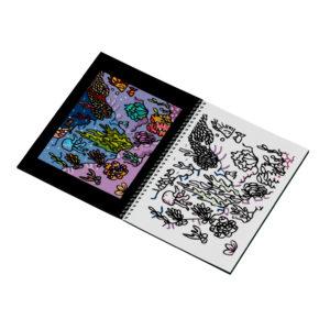 Livret de coloriages : voyages - coraux