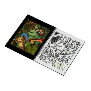 Livret de coloriages : voyages - jungle