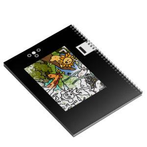 Livret de coloriages : voyages - 4e de couverture